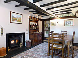 Dining room, cottage, Great Langdale
