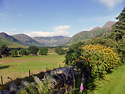 View from garden, Long House, Great Langdale