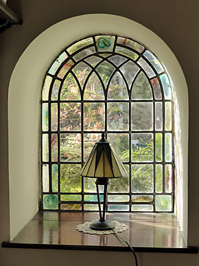 Window in dining room