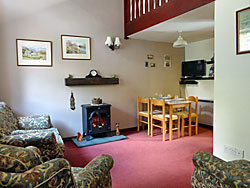 Living room, cottages, Great Langdale