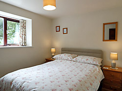 Ground floor bedroom, cottages, Great Langdale
